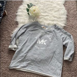 Vintage Michael Kors 3/4 Length Sweatshirt, Sz L